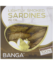 Smoked sardines in oil