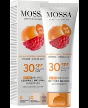 Mossa 365 DAYS DEFENCE Aurinkosuojavoide kasvoille SPF30 50 ml