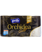 WC-paperi Grite Orchidea Gold 8 rullaa