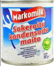 Markomilk 397g makeutettu kondensoitu maito