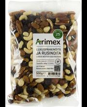 Arimex 500g Luxuspähkinöitä ja rusinoita