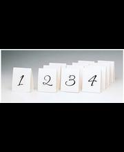 Numeropaikkakortit 1-12