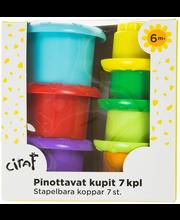 PINOTTAVAT KUPIT 7 KPL...