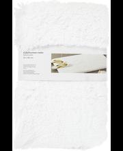 Kylpyhuoneenmatto shaggy, 50x80cm