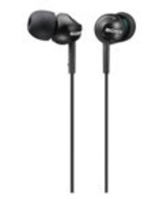 Sony MDR-EX110LPB -nappikuuloke, musta