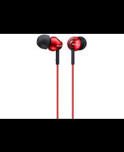 Sony MDR-EX110LPR nappikuulokkeet, punainen