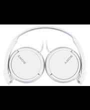 Sony MDR-ZX110AP kuuloke, valkoinen