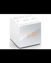 Sony ICF-C1 kelloradio, valkoinen