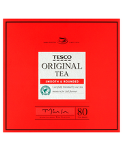 Tesco 80 teabags 250g