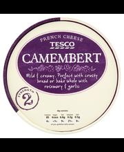 Tesco camembert valkoh...