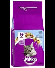 Whiskas 1+  1,75kg Tonnikalaa täysrehua aikuisille kissoille