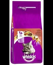 Whiskas 1+ 1,75kg Häränlihaa täysrehua aikuisille kissoille