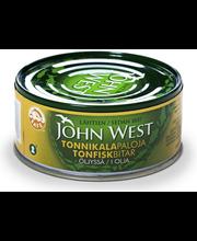 John West 160/112g Tonnikalapalat auringonkukkaöljyssä