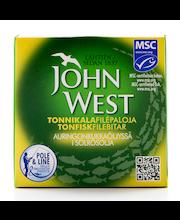 John West 145g MSC Tonnikalafilepaloja auringonkukkaöljyssä