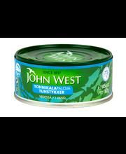 John West 145/102g Tonnikalapalat vedessä