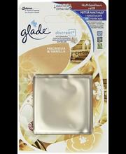 Glade Discreet 8g magnolia&vanilla täyttöpakkaus