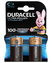 Duracell 2kpl Ultra Power C alkaliparisto