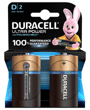 Duracell 2kpl Ultra Power D alkaliparisto