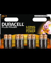 Duracell 8kpl Plus Power AA alkaliparisto