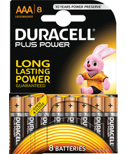 Duracell 8kpl Plus Power AAA alkaliparisto