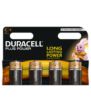 Duracell 4kpl Plus Power C alkaliparisto