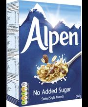Alpen 560g makeuttamaton mysli