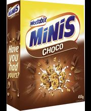 Weetabix Minis 450 g suklaa vehnä minimuroke