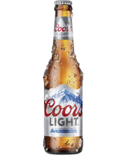 Coors Light 4% 0,33l pullo olut