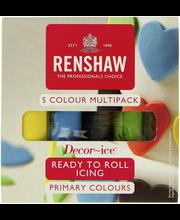 Renshaw Sugar Fondant Päävärit Värilajiltelma 500g