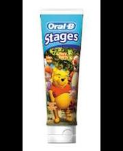 ORAL-B Stages Nalle Puh hammastahna 75 ml