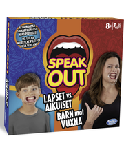 Hasbro Gaming Speak Out lapset vs. aikuiset peli
