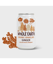 Whole Earth Inkivääri limonadi 330 ml
