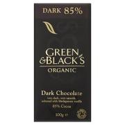 Green & Black's 85% Luomu Tummasuklaa 100g Reilukauppa
