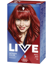 Schwarzkopf Live Color XXL 35 Real Red Color Intense hiusväri