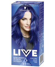 Schwarzkopf Live Ultra Brights 95 Electric Blue hiusväri