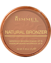 Rimmel 14g Natural Bronzing 022 Sun Bronze aurinkopuuteri