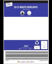 Valkoisia C5 Kirjekuoria