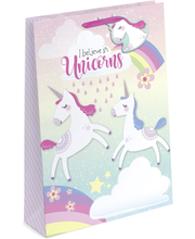Tallon lahjakassi unicorn L 32x26x12cm