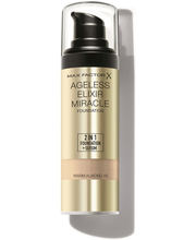 Max Factor Ageless Elixir Foundation -meikkivoide 45 Warm Almond