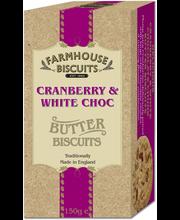 Cranberry & white choc...