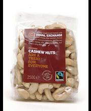 Luomu Reilun kaupan Cashew pähkinä 250g