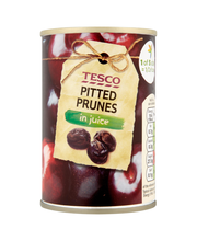 Tesco pitted prunes in...