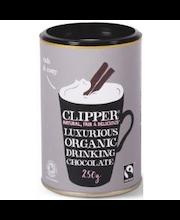 Clipper reilun kaupan luomu suklaajuomajauhe 250 g