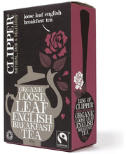 Clipper Luomu English Breakfast tee 125g Reilu Kauppa