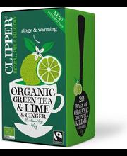 Vihreä tee Lime&Inkivä...