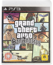 PlayStation 3 Grand Theft Auto: San Andreas