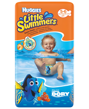Huggies 11kpl Little swimmers 5-6/12-18kg uimavaippa