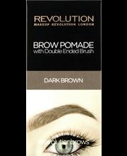 M Revolution Brow Pomade Dark Brown