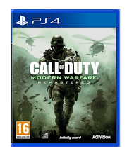 Ps4 cod mw remastered