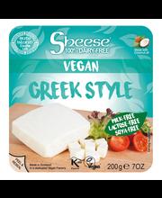 Sheese 200g kreikkalaistyylinen kasviperäinen juustovaihtoehto